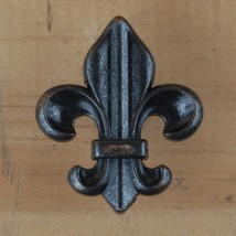 Fleur de lis Drawer Cabinet Knob Pull French Decor (4 different colors) - $2.75