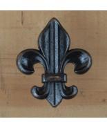 Fleur de lis Drawer Cabinet Knob Pull French Decor (4 different colors) - $2.75