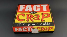 Fact or Crap Trivia Party Board Game Complete - $4.94