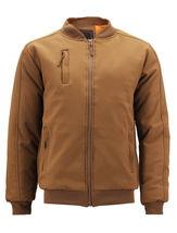 Men's Multi Pocket Water Resistant Industrial Uniform Quilted Bomber Work Jacket image 10