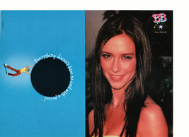 Jennifer Love Hewitt teen magazine pinup clipping half a page nice smile Bop