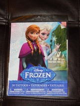 New! Disney Frozen Temporary Tattoos Pack of 50 Free Shipping Kids Child... - $4.94