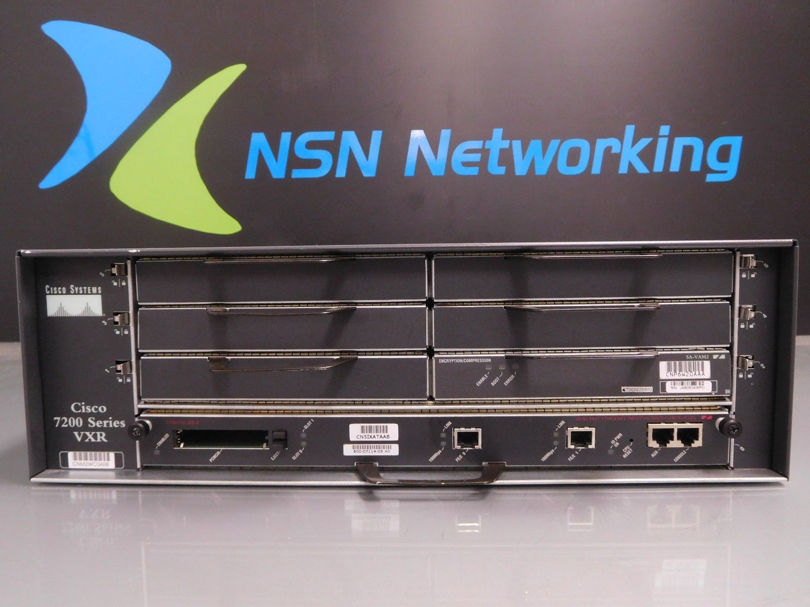 Cisco 7200 VXR 7206VXR Router w/ NPE-400 and 21 similar items