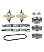 """42"""" Deck Rebuild Kit For Murray Riders Spindle Blades Belt Pulleys Adapters - $106.95"""