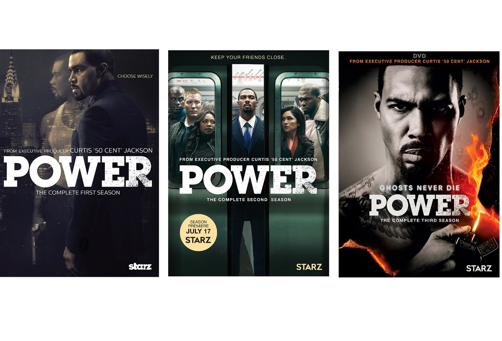 Power season one three 1 3 dvd bundle4