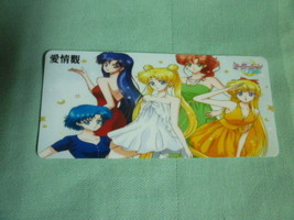 Sailor moon bookmark card sailormoon Crystal inner group style A - $6.00