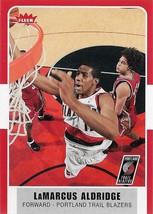 LaMarcus Aldridge Fleer 07-08 #112 Portland Trail Blazers San Antonio Spurs - $0.50