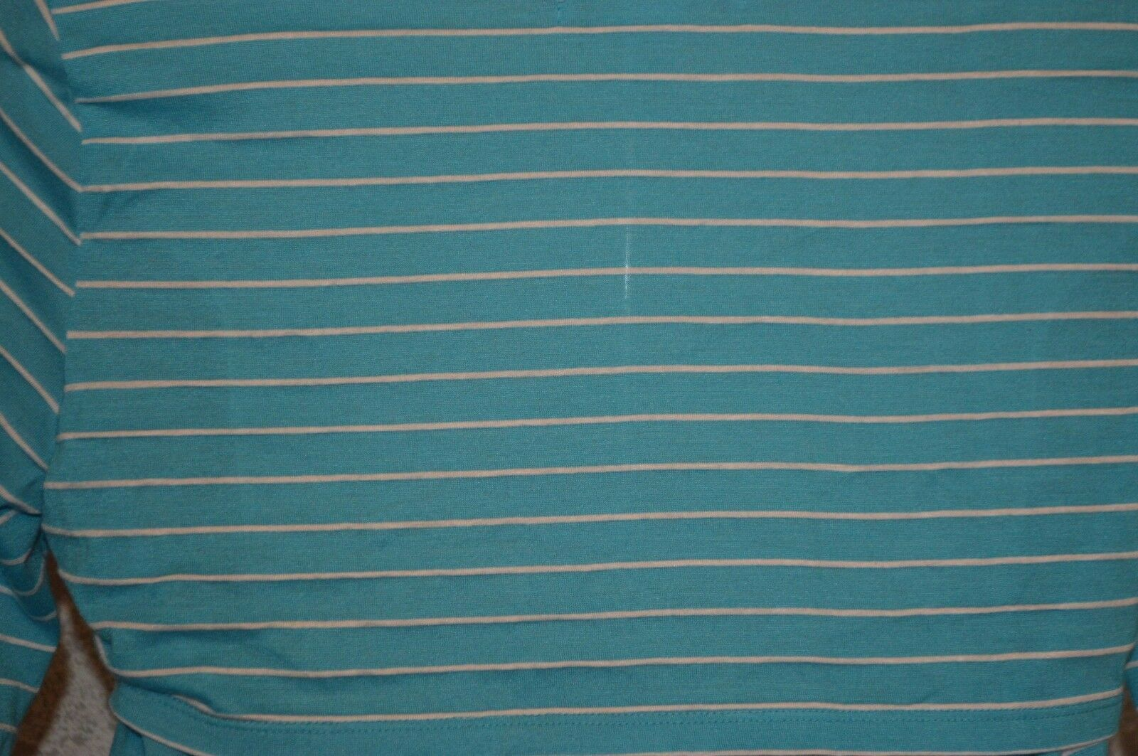 NWT Womens  Love By Design Blue striped open back knit Top SZ XL