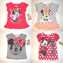 Disney Minnie Mouse  Toddler Girls  T-Shirts 2T, 3T,4T,5T NWT - $9.79