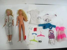 Vintage 1963 & 1967 Blond Skipper Dolls Mattel & Accessoreis - $21.77