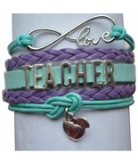 Teacher Bracelet, Teacher Gift, Teacher Jewelry, Teacher Appreciation - $9.99
