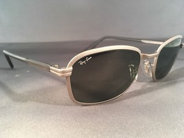 3a73f263d7 Vintage Ray Ban Sunglasses Only SIDESTREET Metal 1 Square by Bausch  amp   Lomb -  46.75