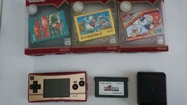 Nintendo Game Boy Micro Limited Color Family Computer Specification From... - $267.29