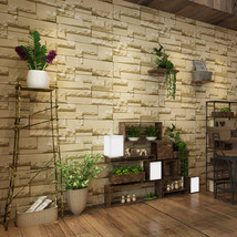 jiadou 3D Stone Wall Paper Rolls Living Room Bedroom Background Wall Wallpaper - $40.95