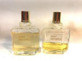 2 PAUL SEBASTIAN vintage fine cologne and After Shave 2oz bottles FREE S... - $42.52