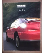 1993 93 Plymouth Laser Sales Brochure Literature 20 Pages BR109 - $8.68