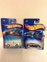 2005 Hot Wheels Treasure Hunt #123 1958 Chevy Corvette & #103 Cadillac - $16.95
