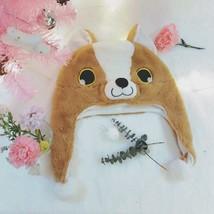 Corgi Dog Husky Plush Hat Cartoon Animal Caps Cosplay Costumes Props - $10.14+