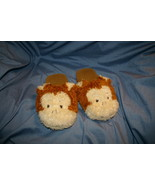Rich H Monkey Slippers Plush Womens Size M (7 - 8 ) or Large (8-9) Shoes - $13.00