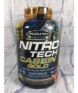Muscletech Nitro Tech Casein Gold 5.02 lbs 71 Servings Chocolate Supreme - $61.99