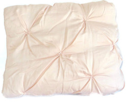 Pottery Barn Kids Audrey Toddler Quilt Blush Pink Crib New - $77.55