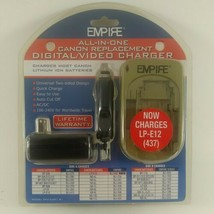 Empire All In One Canon Replacement Digital Video Charger DVU CAN-Factory Sealed - $13.34