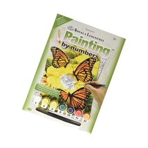 """Junior Small Paint By Number Kit 8-3/4""""X11-3/4-Majestic Monarchs - $20.99"""