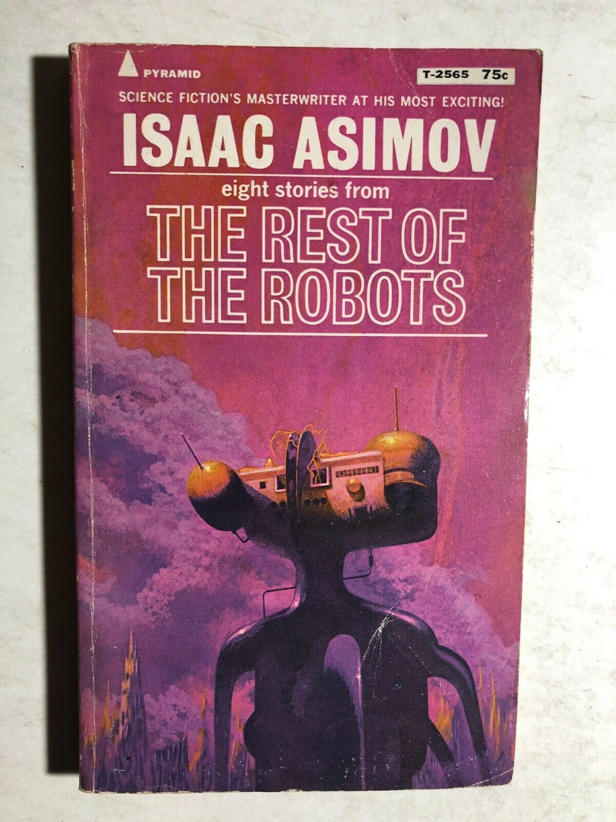 Primary image for THE REST OF THE ROBOTS eight stories by Isaac Asimov (1971) Pyramid SF pb