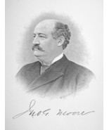 JOHN MOORE of Maine Contested Income Tax Constitutionality - 1895 Portra... - $8.82