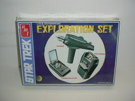 Star Trek Exploration Set AMT Model Kit 1974 Factory Sealed Box S958 - $98.95