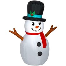 Gemmy 4-ft Lighted Snowman Christmas Inflatable - $52.75