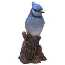 Pacific Giftware Blue Jay Perching on Branch with Motion Activated Bird ... - $39.59