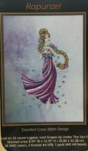 Cross Stitching Art Cross Stitch Patterns Rapunzel Rose Venus Twilight F... - $14.95