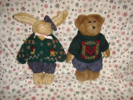Boyds Bears 1996 Fall Emily And Edmund Plush Set - $21.99