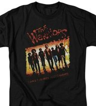 The Warriors t-shirt 1 gang 9 members retro 70's cult classic graphic tee PAR113 image 3