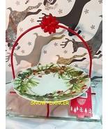 Hallmark 2014 Festive Plate With Stand NWT - $24.99
