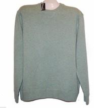 Raffi Spermint Steel Green Men's Pure Cashmere Sweater Sz US XL EU 54 NE... - $98.01