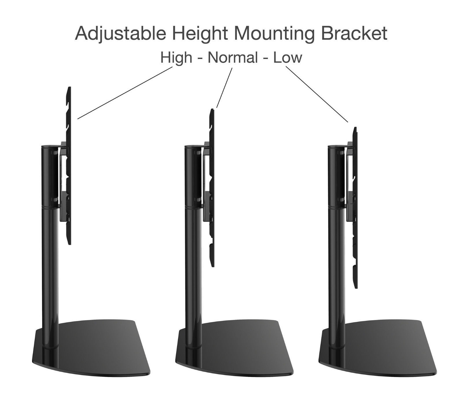 """New Universal Replacement Tabletop Swivel TV Stand/Base for Toshiba up to 70"""""""