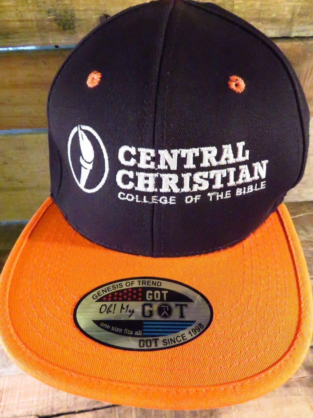 Primary image for CENTRAL CHRISTIAN College of The Bible Adjustable Adult Hat Cap