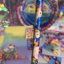 90s wow LISA FRANK LOT Dolphin PLATES Assorted Stickers Stationery Pencil Roary image 4