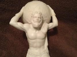 10 Inch Man with Atlas Globe Shrugged Resin Statue Figurine - $49.50