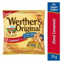 6x Werther's Original No Sugar Added Caramels Hard Candy 70g Canada FRESH  - $43.81