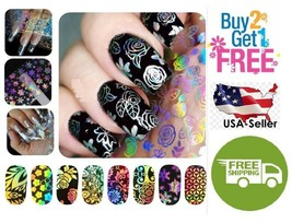 B:54 Colors Holographic Glitter Foil Nail Art Transfer *BUY2 GET 1 FREE* - $23.99