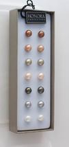 Honora Cultured Freshwater Pearl Set of 7 Pair 7mm Sterling Stud Earrings - $35.00