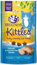 Wellness Kittles Crunchy Chicken & Cranberry Cat Treats - $12.37
