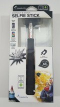 Selfie Stick iPhone & Android Compatible black - $9.40