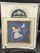 Counted Cross Stitch Kit #HS107 Astor Place Guardian Angel VTG NOS - $19.95