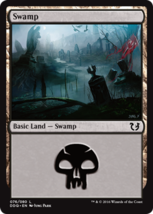 Magic The Gathering-Duel Decks Blessed vs. Cursed-SWAMP #76 - $0.05