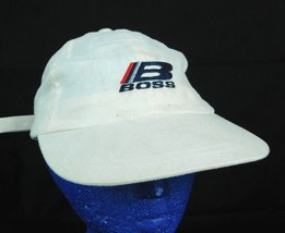 Boss White Baseball Hat Cap Box Shipped - $15.99