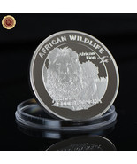 WR Zambia 5000 kwacha 2016 African Lion Africa Wildlife 1 Oz Silver Coin... - $6.46
